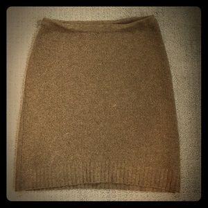 Ralph Lauren wool and cashmere pencil skirt